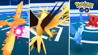 Pokemon GO | ALL LEGENDARY POKEMON CAUGHT...!!!