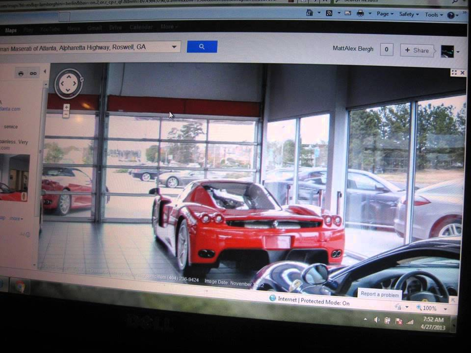 Supercars On Google Maps Street View Part Youtube