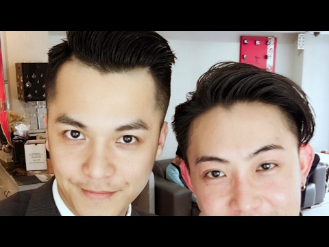 男髮型(上班族) Fly hair J