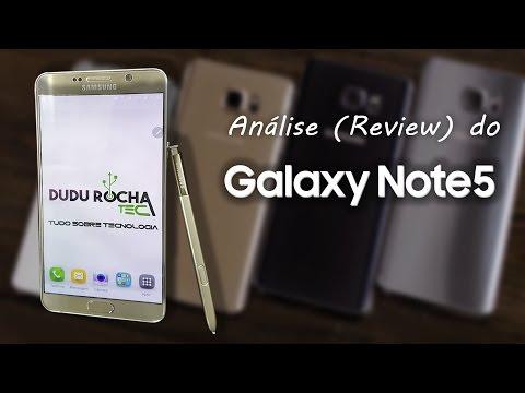 Análise (Review) do Samsung Galaxy Note 5 - SM-N920i  (PORTUGUÊS)