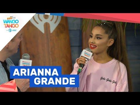 Ariana Grande Reveals Sweetener Album, The Light is Coming Single at KIIS FMs Wango Tango