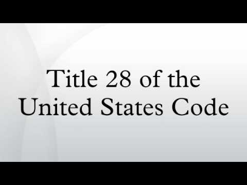 Title 28 of the United States Code