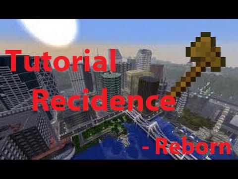 Tutorial Residence Reborn / MINECRAFT SERVER 1.8 /