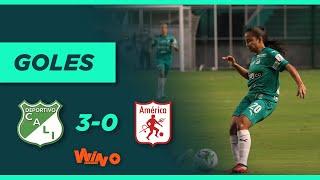 Deportivo Cali vs  América (3-0) | Liga Femenina BetPlay Dimayor - Fecha 5