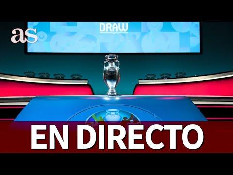 SORTEO De La EUROCOPA 2020: Seguimiento EN DIRECTO Con Roncero, Matallanas...   Diario AS