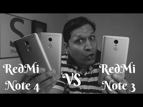 Massive Comparison RedMi Note 4 vs RedMi Note 3   Sharmaji Technical