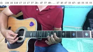 GUITAR BOLERO BÀI 152: Cách đệm đàn khi người hát ngâm thơ trước khi hát