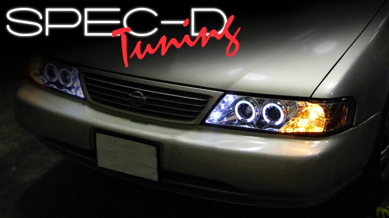 SPECDTUNING INSTALLATION VIDEO: 1995-1999 NISSAN SENTRA ...