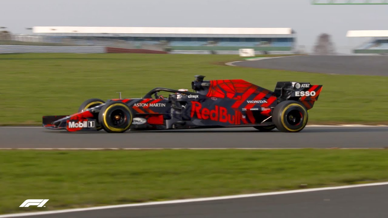 Red Bull's RB15 Hits the Track at Silverstone | 2019 Formula 1 Launches