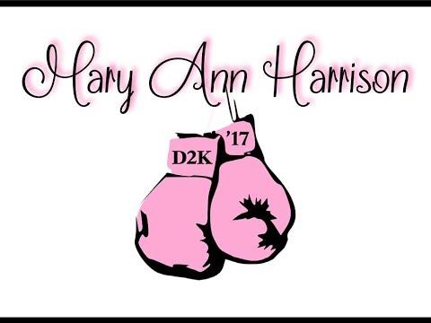 D2K 2017 ~ Mary Ann Harrison ~ A Certain Woman ~