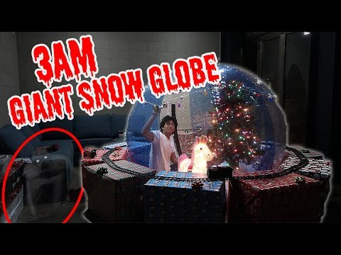 3AM Giant Snow Globe!!!