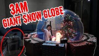 3AM Giant Snow Globe!!!