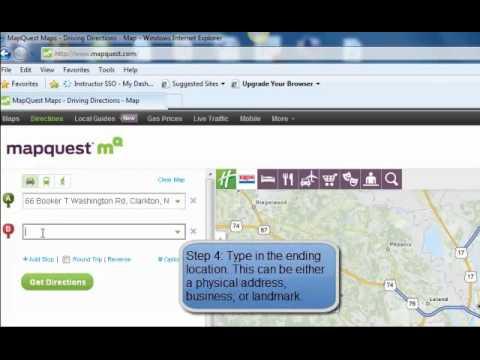 Mapquest Tutorial