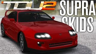 TOYOTA SUPRA SKIDS FOR THE KIDS! | TEST DRIVE UNLIMITED 2 MODS (TDU2)