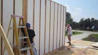 EZ SIPS for Green / LEED Home Construction - Build Your Own Custom SIP Panels on Site from $69.99!