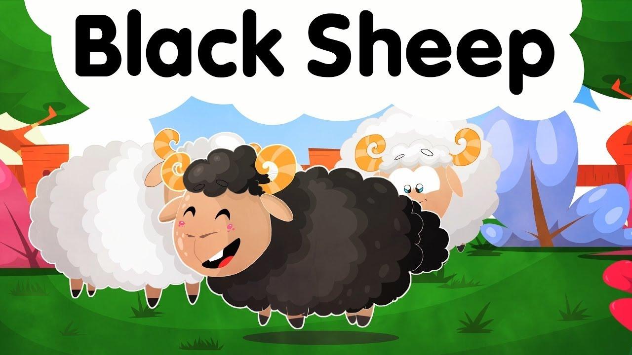 Black Sheep | Nursery Rhymes Kids & Baby Songs - YouTube