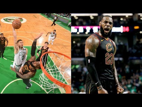 Tatum Dunks on LeBron! Cavs Advance to Finals! 2018 NBA Playoffs