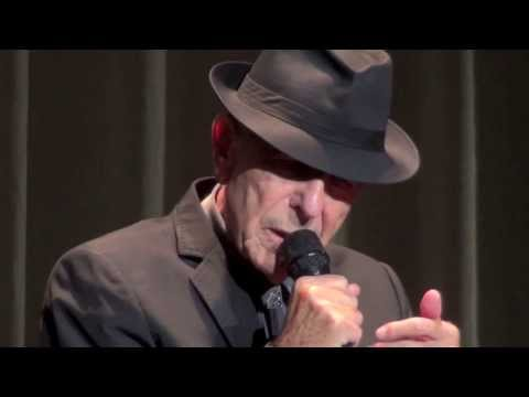 Leonard Cohen, Hallelujah, Birmingham, 08-09-2013