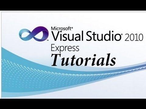 การเขียนโปรแกรม VB 2010