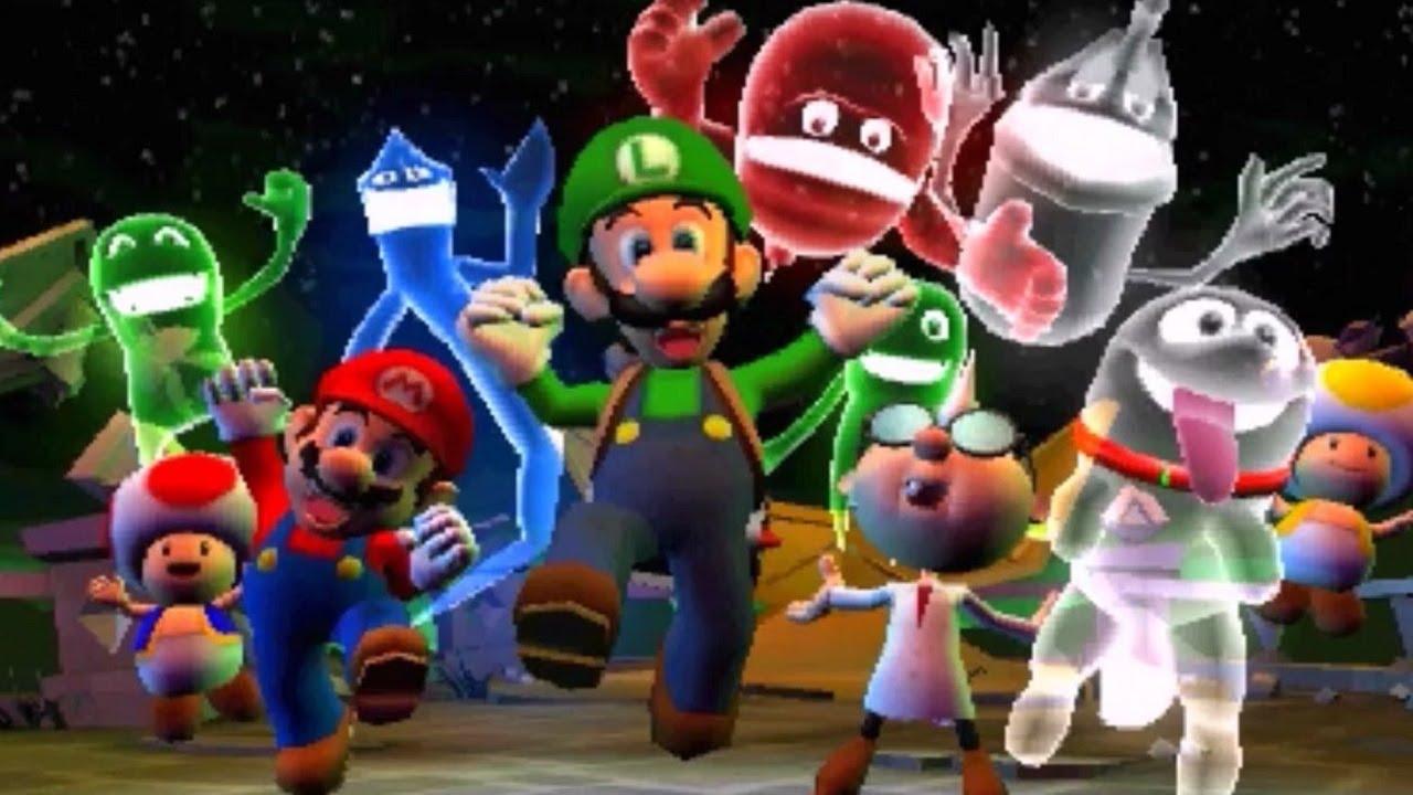 Luigi S Mansion Dark Moon 3ds All Boss Fights No Damage Final Boss 3 Star Ratings