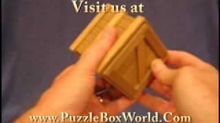 Karakuri Japanese Secret Puzzle Box