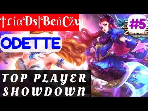 Top Player Showdown [Rank 2 Odette]   ϯɾίαÐs BeńCžw Odette Gameplay and Build #5 Mobile Legends
