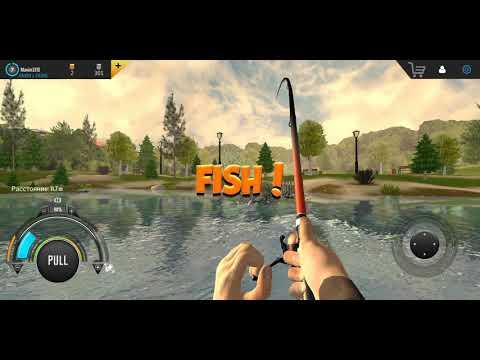 Professional Fishing Mobile показую хорошие места!