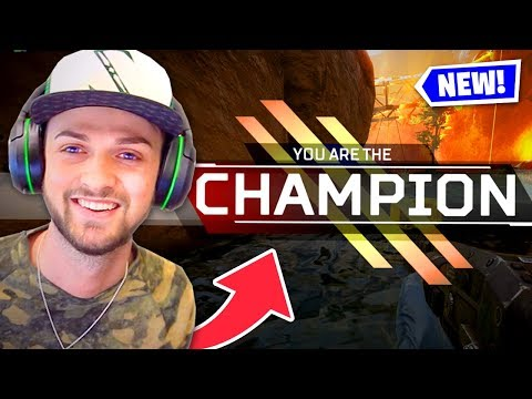 MY FIRST WIN! (NEW Battle Royale - Apex Legends)