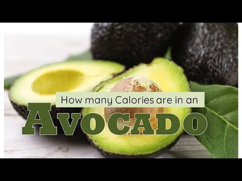 How Many Calories Are in an Avocado?