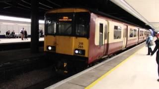 【吊掛】スコットレイル クラス318 グラスゴー·クイーンストリート駅発車 ScotRail Class 318