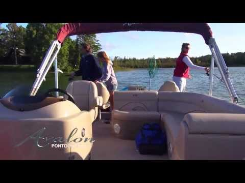 2014 Pontoon Boats - Avalon Catalina Fish - Avalon Pontoons - Affordable Fishing Boat