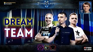 КОМАНДА МЕЧТЫ: 3х3 с BratOK и DIMAGA, которых не будет на StarCraft II Nation Wars