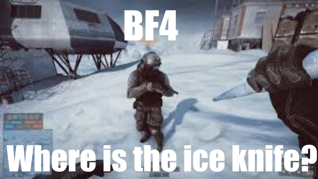 bf4 icicle knife and how to find it youtube