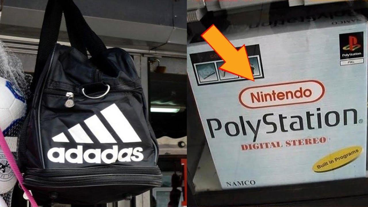Hilarious Copies of Famous Brands
