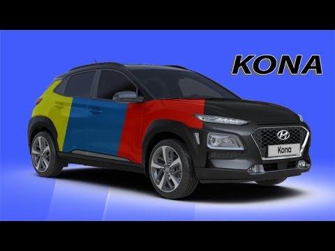 2018 Hyundai Kona All Color Options - YouTube