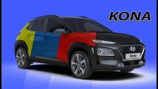 2018 Hyundai Kona All Color Options