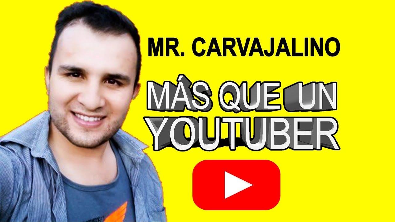 Mr. Carvajalino más que un Youtuber o El Boom y Realidadcol  su entrevista en Roqui Te Lo Cuenta