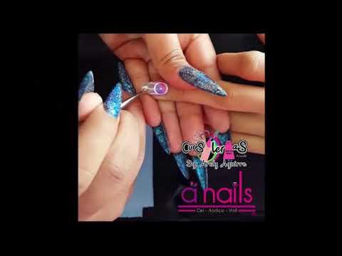 Diseño para uñas Atrapasueños con Gel Painting de A Nails