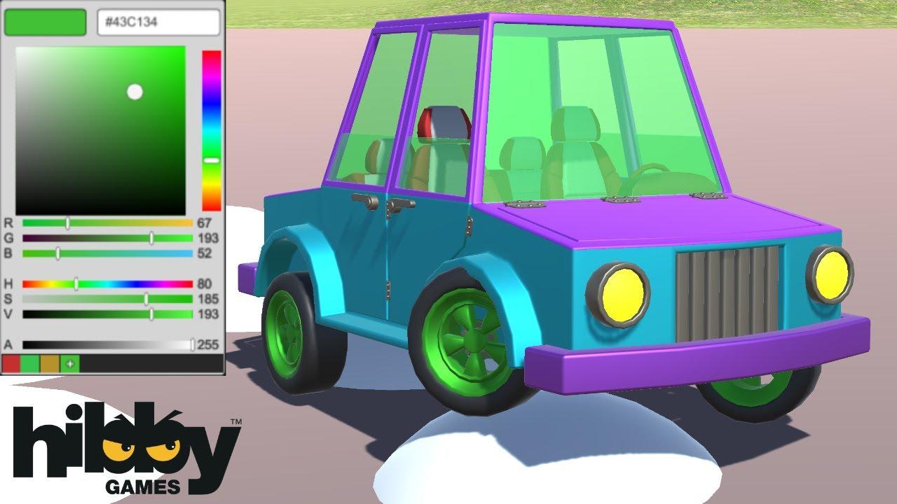 Game maker color picker - Color Picker Unity Tutorial