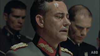 Hitler reacts to Germany losing to Macedonia in the World Cup Qualifying