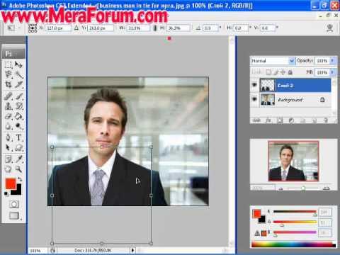 Coat & Tie Editing Using Adobe Photoshop