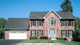 Colonial Homes Video 1 | House Plans And More