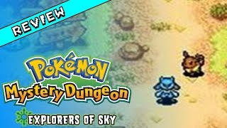 Pokemon Mystery Dungeon: Explorers of Sky Review (Wii U Eshop / DS)