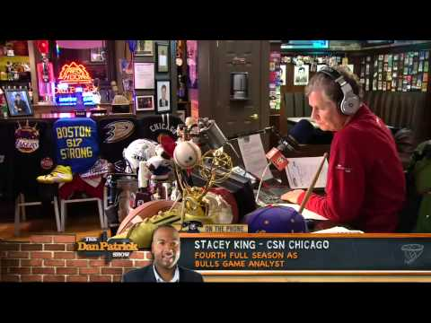 Stacey King on The Dan Patrick Show 5/9/13