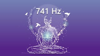 741 Hz disuelve toxinas y pensamientos negativos, estimula el sistema inmunológico, meditación