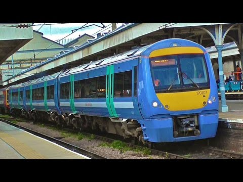 Trains At Norwich Station - Tuesday 3rd May 2016