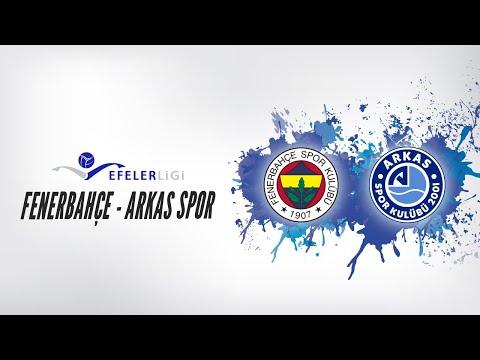 2018 - 2019 Efeler Ligi Play Off Final 1.Maç Fenerbahçe -Arkas Spor