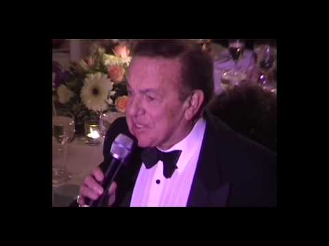 Jack Carter at Milton Berle's 93rd birthday party