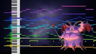 【耳コピ】ドラクエ8 おおぞらに戦う 再現してみた 【MIDI】Dragon Quest VIII -Battle in the Heavens 【Cover】