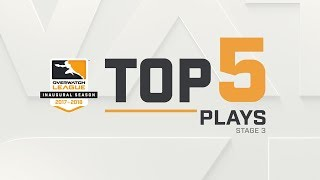 Overwatch League Top 5 Plays – Stage 3